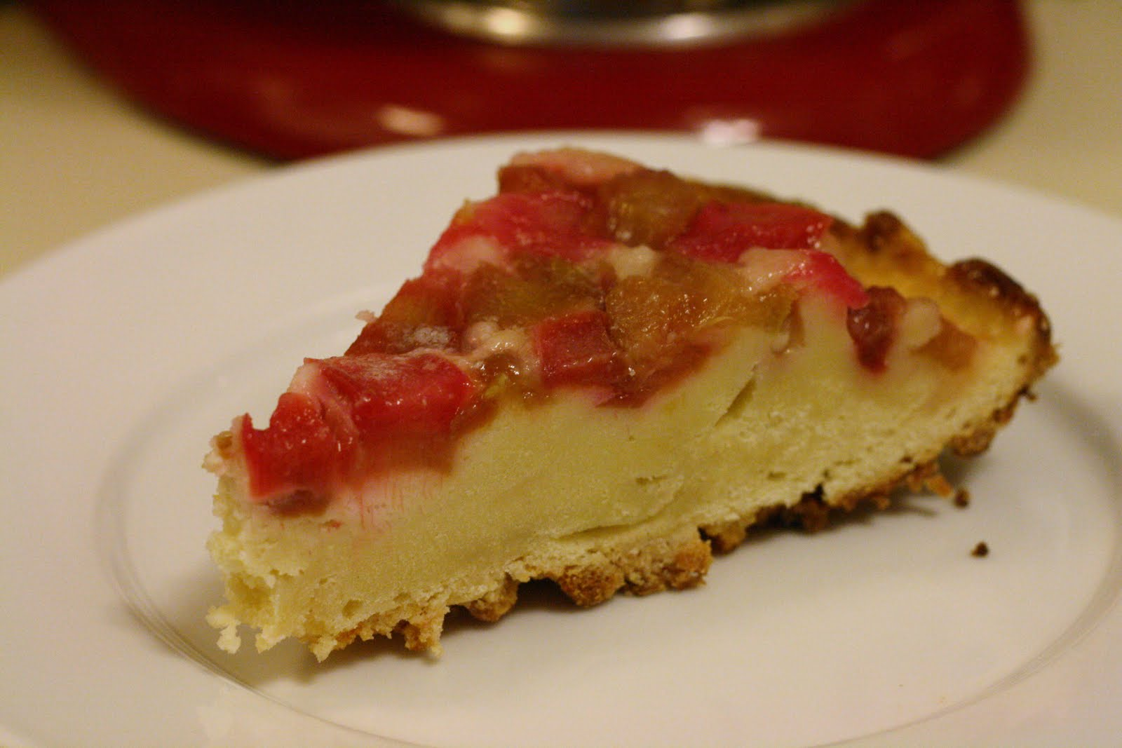 Laine's Recipe Box: Rhubarb Upside-Down Cake