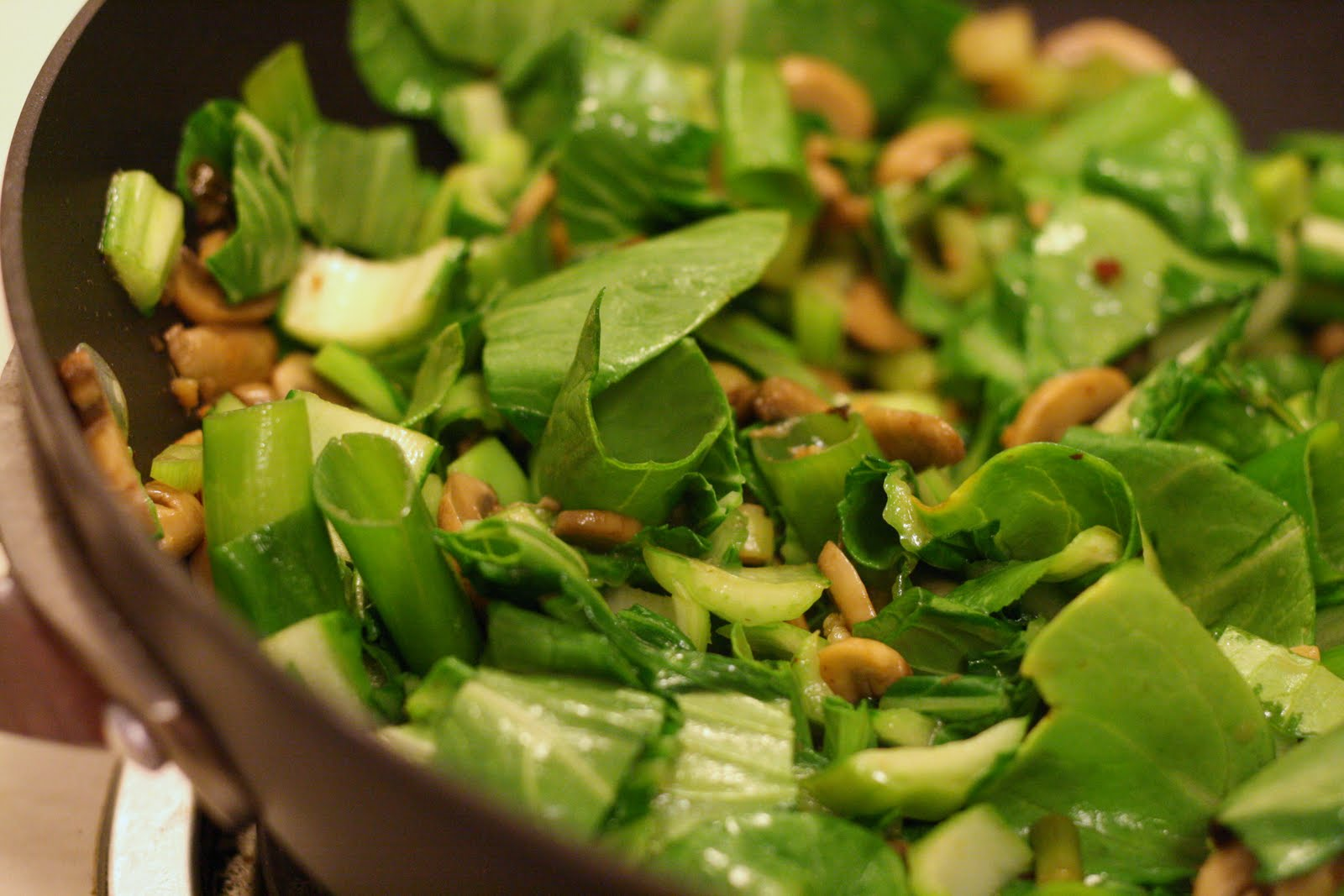 Bok Choy Stir-Fry With Ginger And Garlic Recipe — Dishmaps