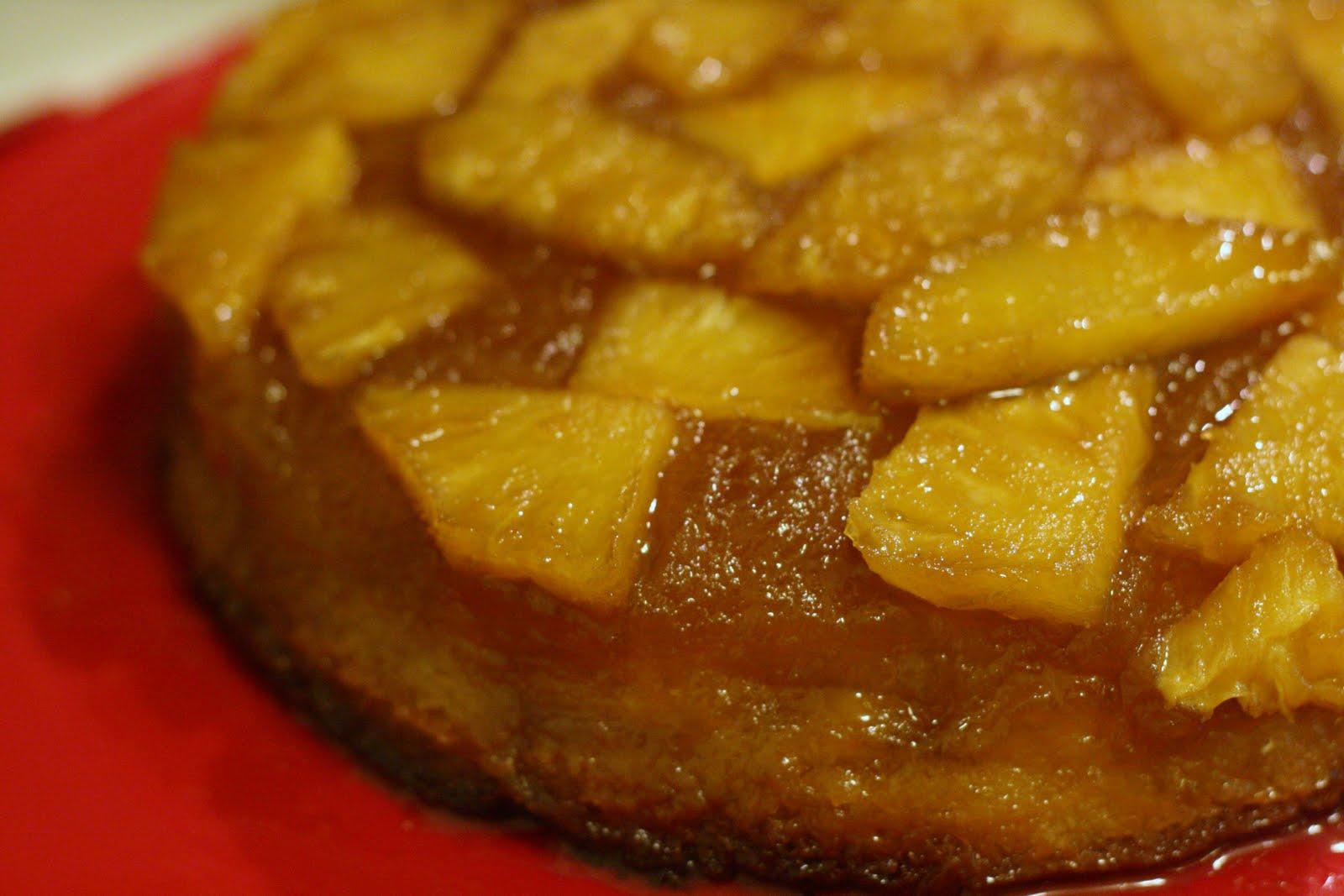 Laines Recipe Box Pineapple Upside Down Cake