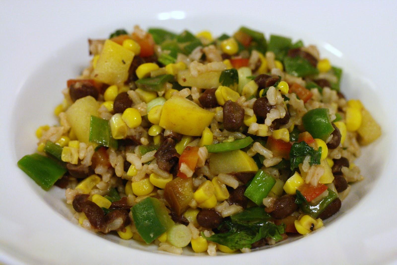 Laine's Recipe Box: Southwestern Rice Salad