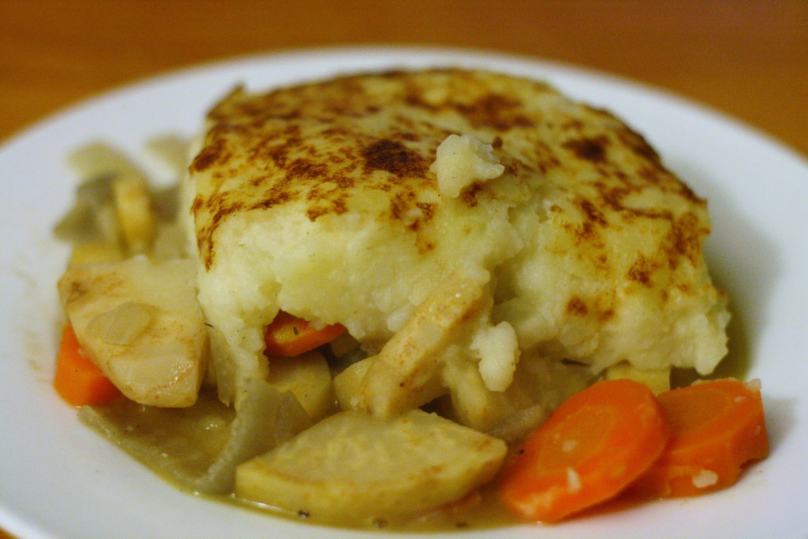 Laine's Recipe Box: Winter Vegetable Shepherd's Pie