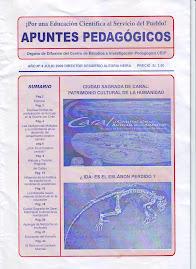 APUNTES PEDAGÒGICOS