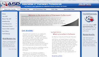 ASP Association of Shareware Professionals