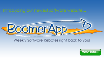 Introducing BoomerApp.com Software Rebates
