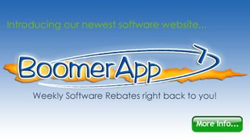 Introducing BoomerApp.com Software Rebates