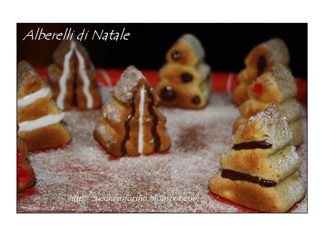 Alberelli dolci e tanti auguri di buon natale for Alberelli di natale