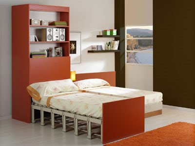Rolling Bed, cama mueble