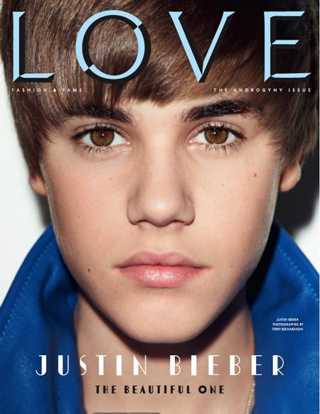 Justin Bieber Love Magazine. Justin Bieber x Love Magazine