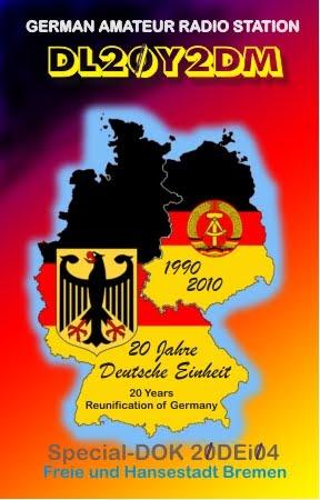 DL20Y2DM, 20 лет воссоединения Германии