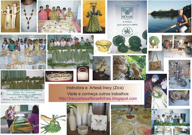 Cursos de artesanatos em fibras e folhas naturais