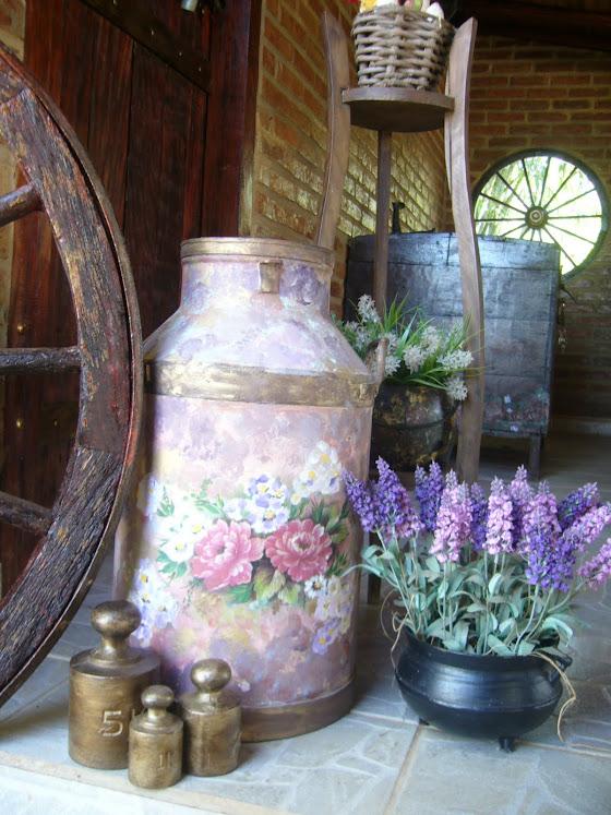 tambor de leite