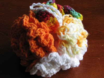 Maricucu Crocheted Shower Puff