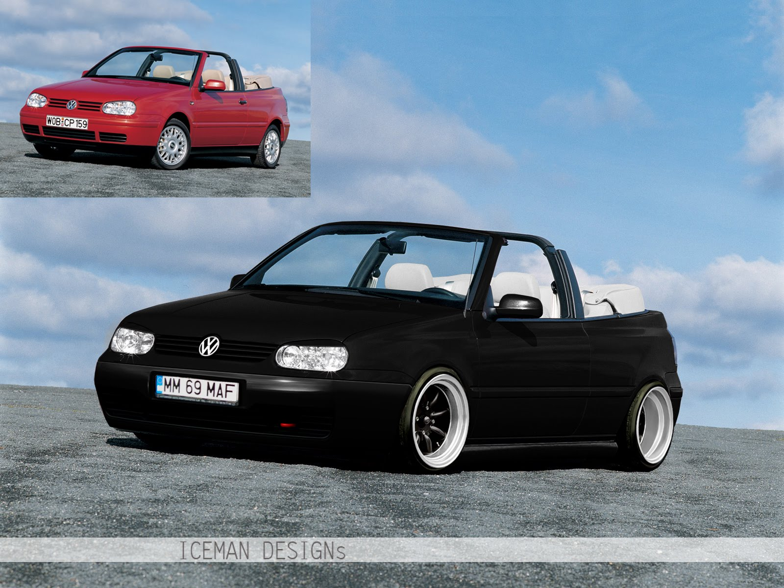 icemangraphics volkswagen golf 4 cabrio by iceman. Black Bedroom Furniture Sets. Home Design Ideas