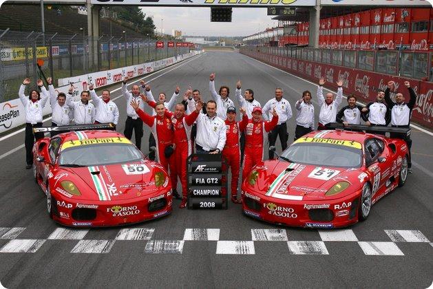 IL TEAM CAMPIONE DEL FIA GT2 2008