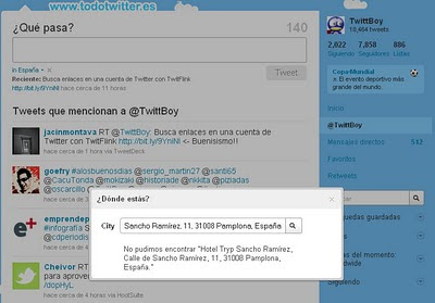 Twitter Places Captura 10