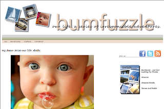 screenshot of www.bumfuzzle.com site