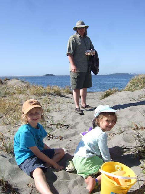the dunes of King Salmon, California
