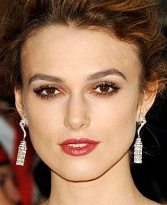 Keira Knightely with make-up picture