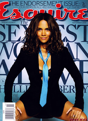 Halle Berry Esquire Magazine the cover picture