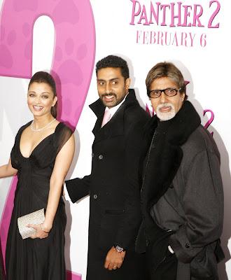 Aishwarya Rai,Abhishek Bachchan,Amitabachan