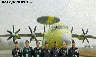 China rolls out AWACS aircrafts for PAF