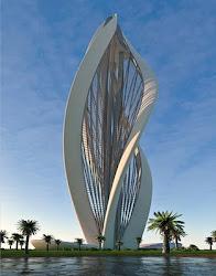 Blossoming Dubai (arquitetura moderna)