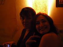 Con Lorena,actriz,cantante