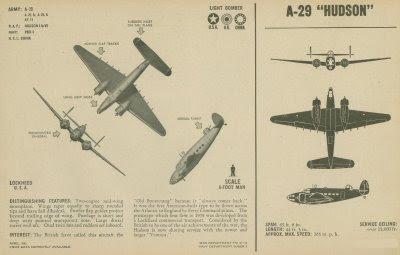 Lockheed Hudson patrol bomber