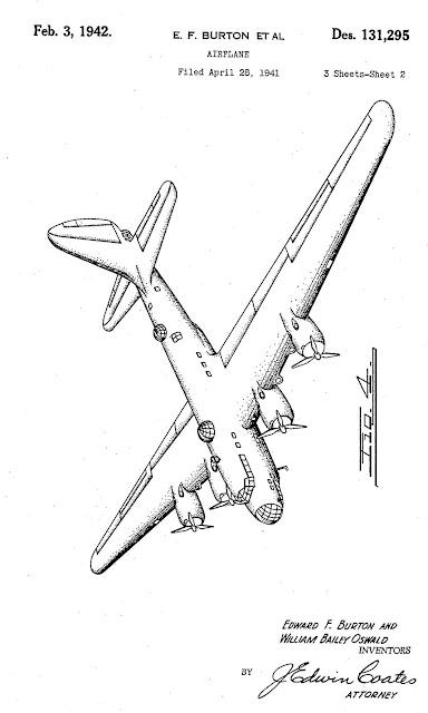 Douglas XB-19 diagram