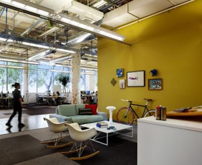 Las nuevas oficinas de Facebook