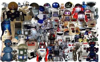 Robots eran los de antes...
