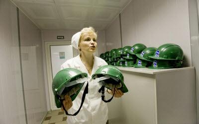 Paseando por una planta nuclear Rusa