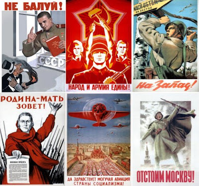 Propaganda Retro de la antigua Unión Soviética