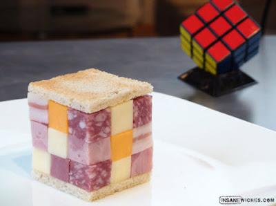 Rubik de jamón y queso