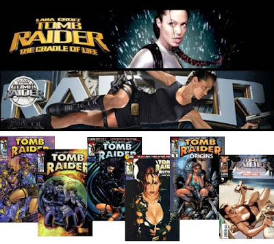 Tomb Raider Movies and Comics