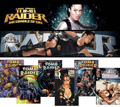 Tomb Raider Movies and Comics
