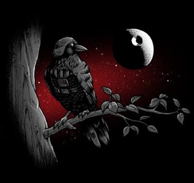 El cuervo Darth Vader