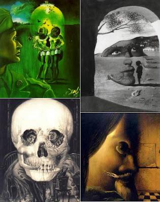 Las increibles ilusiones ópticas de Salvador Dalí
