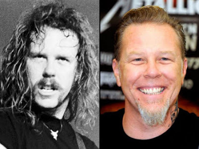 James Hetfield. De jovenes músicos a leyendas del rock