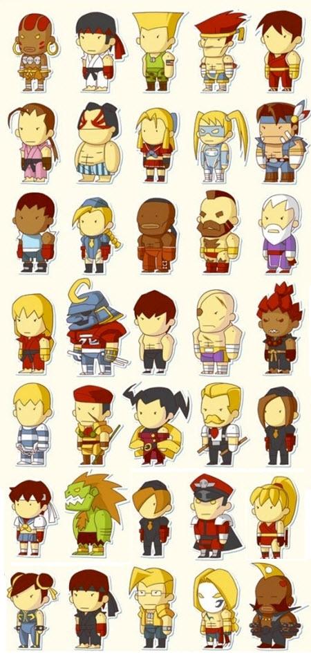 Street Fighter Cartoons