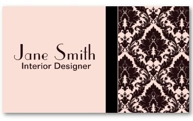 Elegant business cards elegant stylish classy damask floral elegant stylish classy damask floral professional business card reheart Choice Image