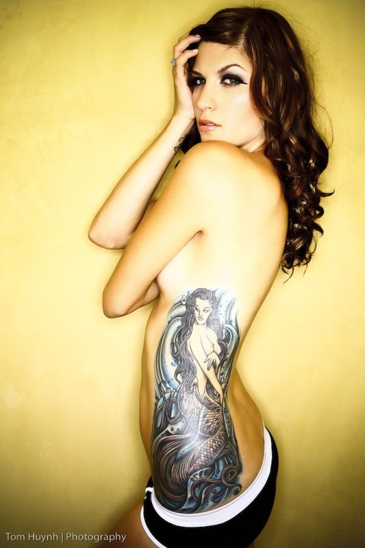 Woman And Tattoo Looks So Hot