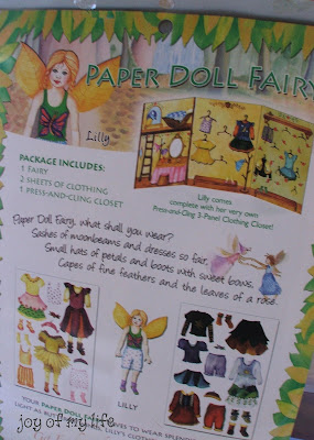 paper doll fairy kit