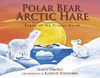 Polar Bear Arctic hare poems from the frozen north book review spinelli