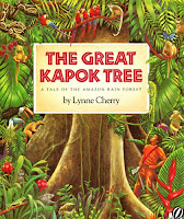 the great kapok tree amazon rainforest tale lynn cherry book review for Saffron Tree