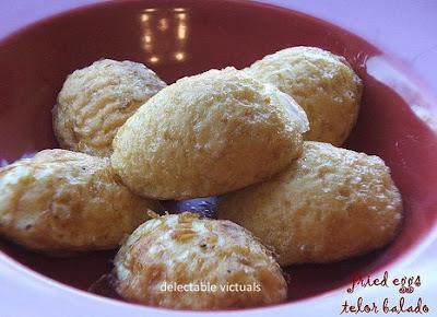 easy recipe telor balado hard-boiled egg curry