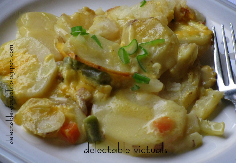 Delectable Victuals: Easy Potatoes au Gratin