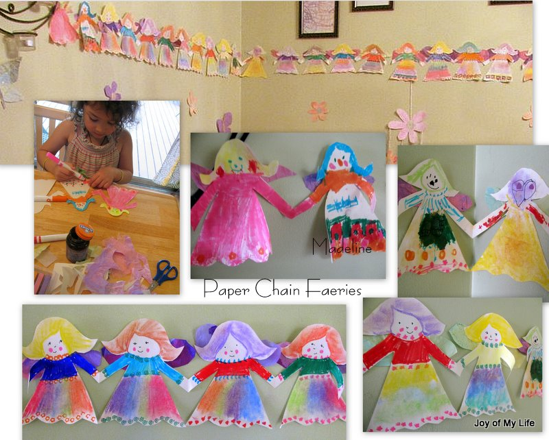 The joy of my life and other things kids crafts paper for Fairy crafts for toddlers