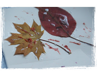 kids crafts fall leaves greeting cards