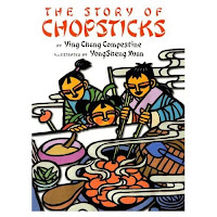 story of chopsticks by Ying Chang Compestine book review Saffron tree